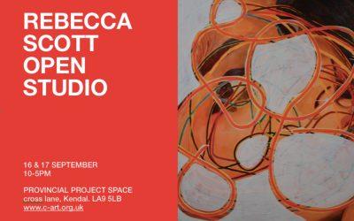 Rebecca Scott Open Studio